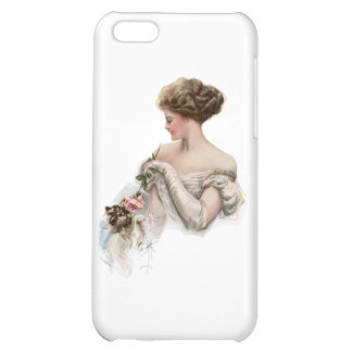 Fair Maiden Teases a Kitten Cover For iPhone 5C