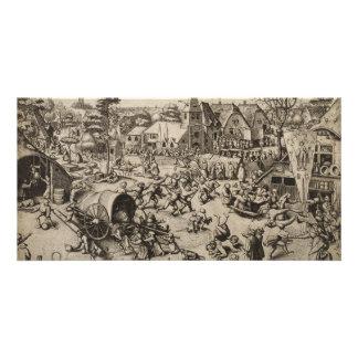 Fair of Saint Georges Day by Pieter Bruegel Photo Card