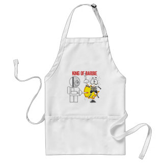 Fair play :) fencing theme barbeque appron standard apron