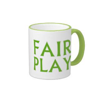 Fair Play Ringer Mug