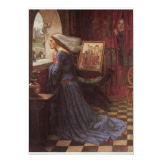 Fair Rosamund fine art 13 Cm X 18 Cm Invitation Card