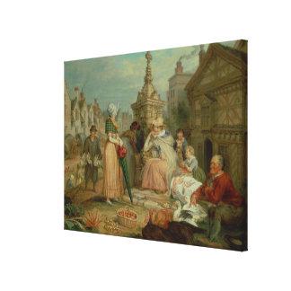 Fair Show Canvas Print