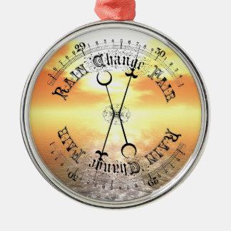 Fair Weather Barometer Sunset Christmas Pendant Christmas Ornament