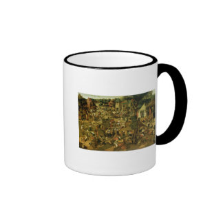 Fair with a Theatrical Performance, 1562 Ringer Mug