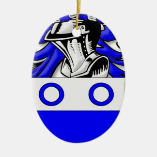 Fairbank Coat of Arms Christmas Tree Ornaments