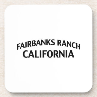Fairbanks Ranch California Beverage Coasters