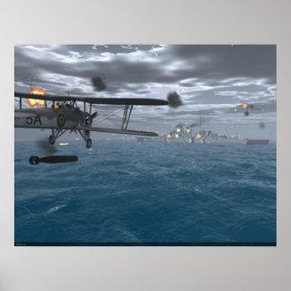 Fairey Swordfish - Sink the Bismarck Poster