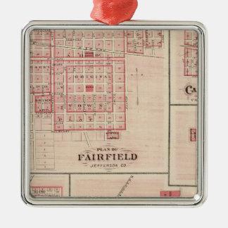 Fairfield, Carroll, Birmingham, Dunlap Christmas Ornament