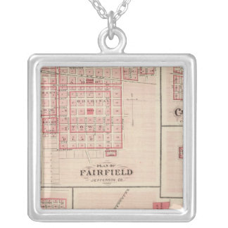 Fairfield, Carroll, Birmingham, Dunlap Silver Plated Necklace