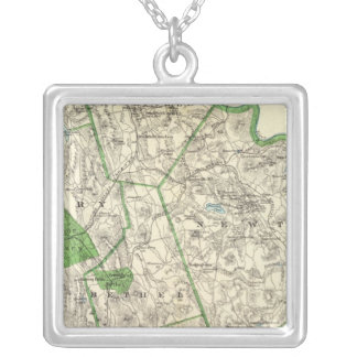 Fairfield Co N Silver Plated Necklace