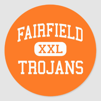 Fairfield - Trojans - Senior - Fairfield Iowa Classic Round Sticker