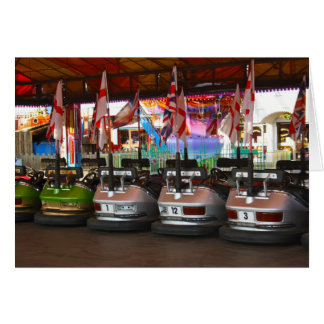 Fairground Dodgem Bumper Car Card