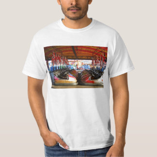 Fairground Dodgem Bumper Car Tee Shirt