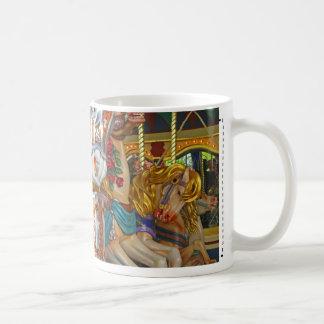 Fairground Horses Coffee Mug