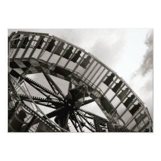 Fairground Ride Invitation