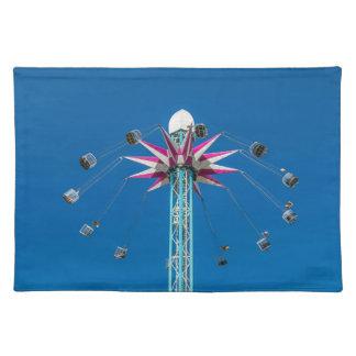 Fairground ride placemat