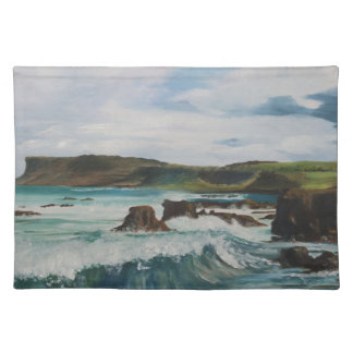 Fairhead, Ballycastle Northern Ireland - J. Casey Placemat