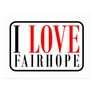 Fairhope, Alabama Postcard