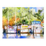 Fairhope Yacht Club Postcard