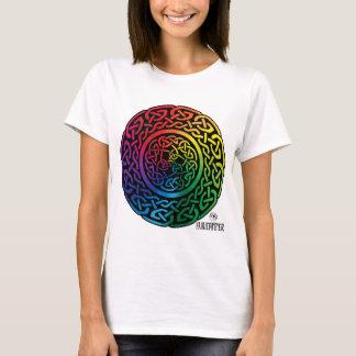 Fairie Patter - Rainbow Celtic Knotwork T-Shirt