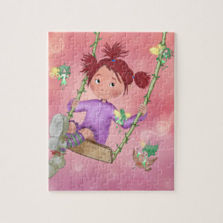 """Fairies 8"""" x 10"""" Photo Puzzle with Gift Box"""