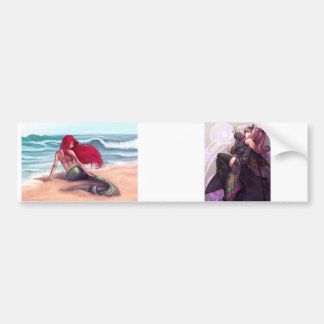 Fairies and Mermaids Bumper Sticker
