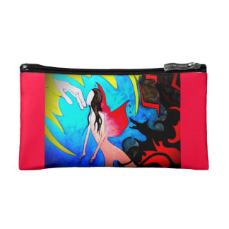 Fairies and Wolves and Weird Vine Things, Oh My! Cosmetic Bag