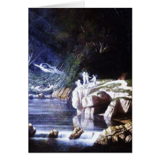Fairies by Francis Danby Greeting Card