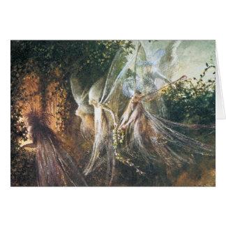 Fairies - by John Anster Fitzgerald Card