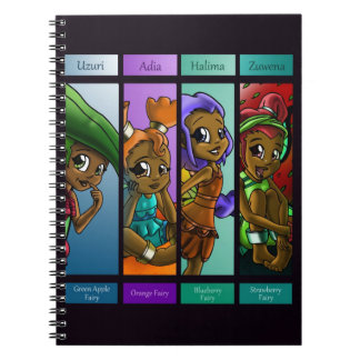 Fairies Close-up Notebook