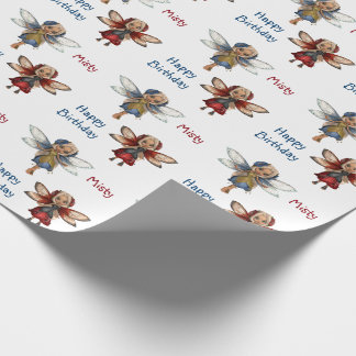 Fairies Custom Wrapping Paper