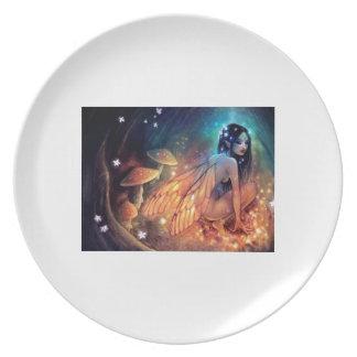 Fairies/Flairies Dinner Plates