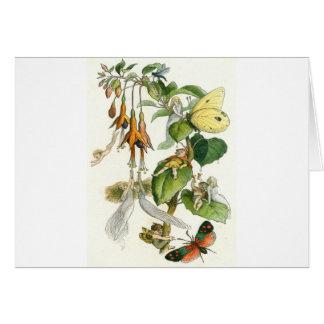 Fairies in Fuchsia Card