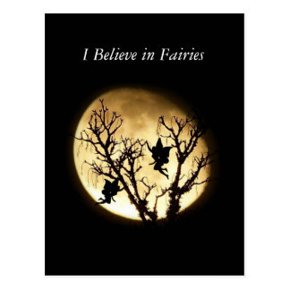 Fairies in Moonlight Postcard