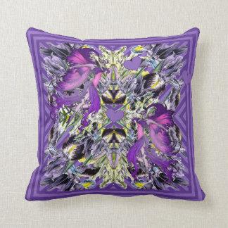 Fairies in the Iris patch Cushion