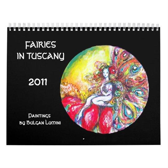 FAIRIES IN TUSCANY 2017 Fantasy Calendars