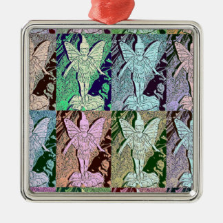 Fairies Pop Art Design Christmas Ornament