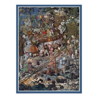 Fairies Poster/Print: Fairy Fellers' Master Stroke Poster