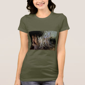 Fairies Watching At Forest Edge T-Shirt