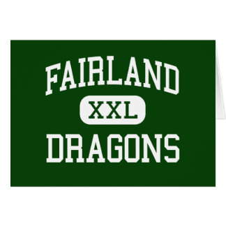 Fairland - Dragons - High - Proctorville Ohio Greeting Card