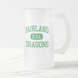 Fairland - Dragons - High - Proctorville Ohio Frosted Glass Mug