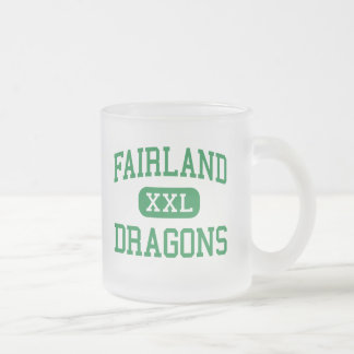 Fairland - Dragons - High - Proctorville Ohio 10 Oz Frosted Glass Coffee Mug