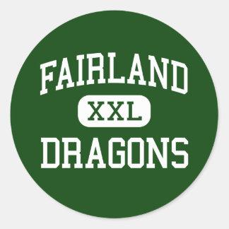 Fairland - Dragons - High - Proctorville Ohio Round Sticker