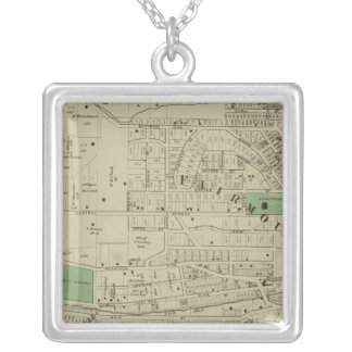 Fairmount, Mt Harrison, Ohio Silver Plated Necklace