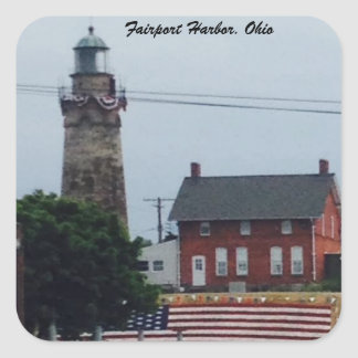 Fairport Harbor, Ohio 4th of July  photo Sticker