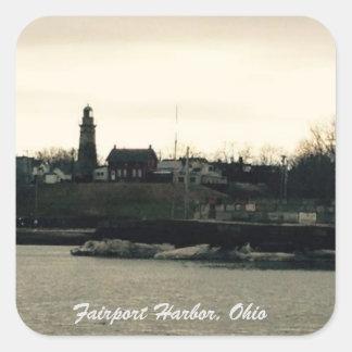 Fairport Harbor, Ohio photo Stickers