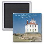 Fairport Harbour West Breakwater Lighthouse Magnet