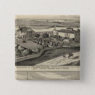 Fairview Farm and Sanitarium, Kansas 15 Cm Square Badge