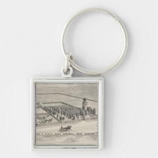 Fairview res, ranches key ring