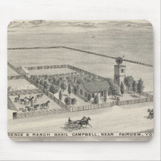 Fairview res, ranches mouse mat
